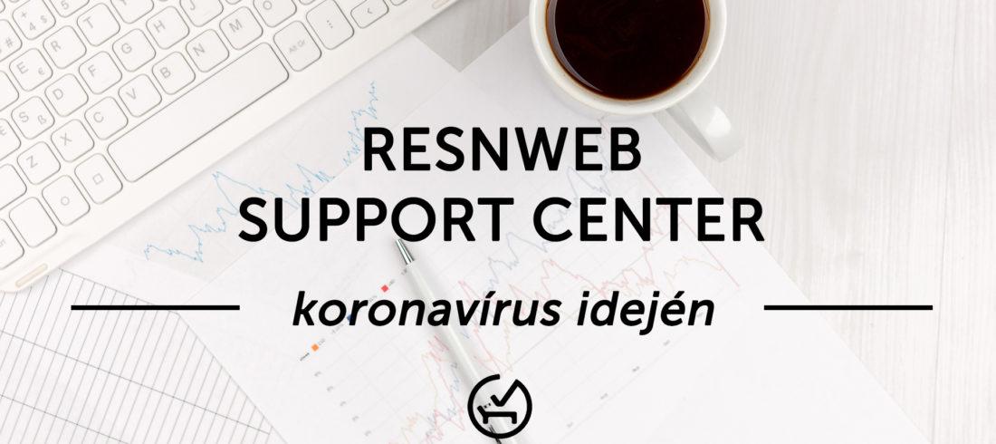 RESnWEB Koronavírus Support Center